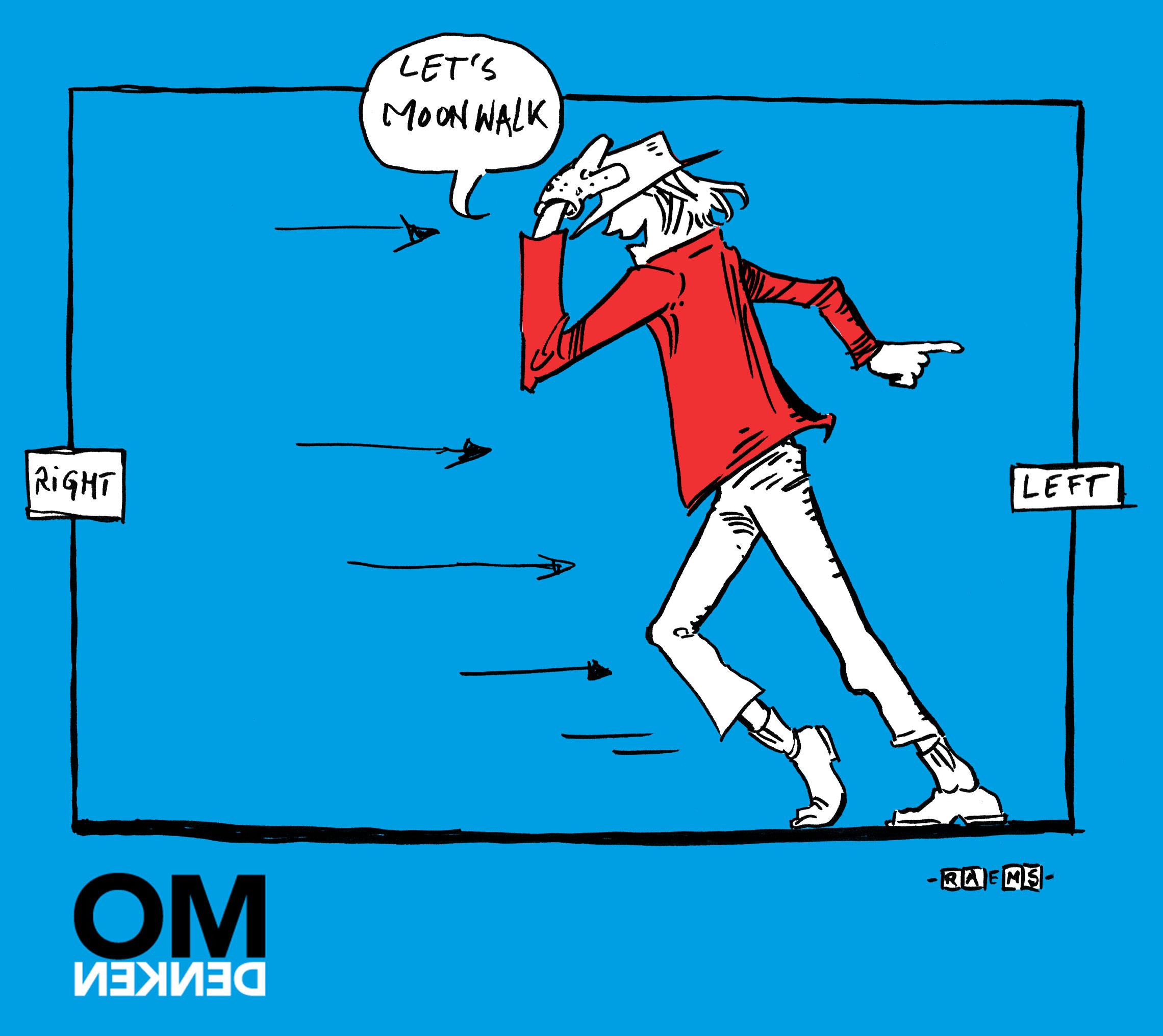 Omdenk cartoon